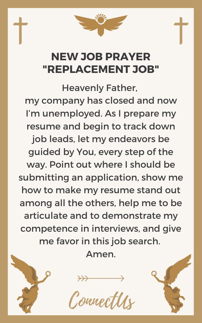 replacement-job-prayer