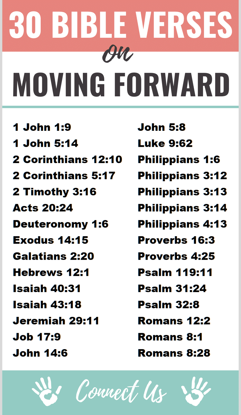 Bible Verses on Moving Forward