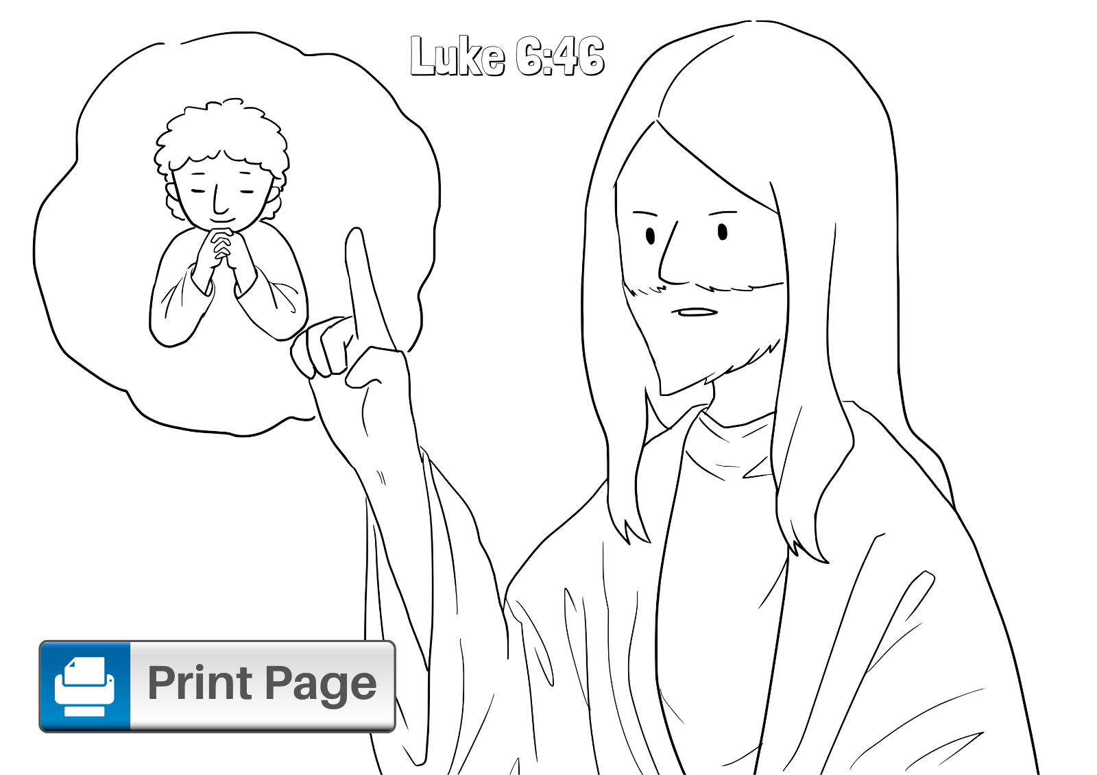 Building Your House on the Rock Coloring Page