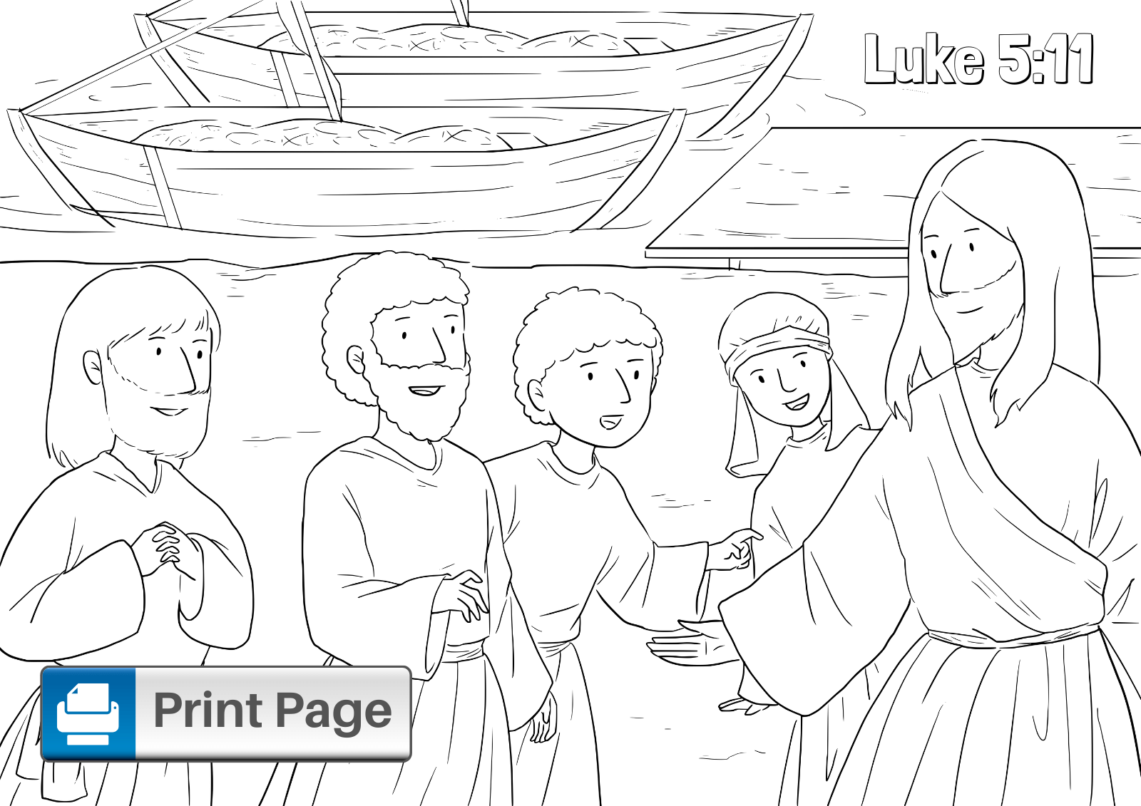 Fishers of Men Printable