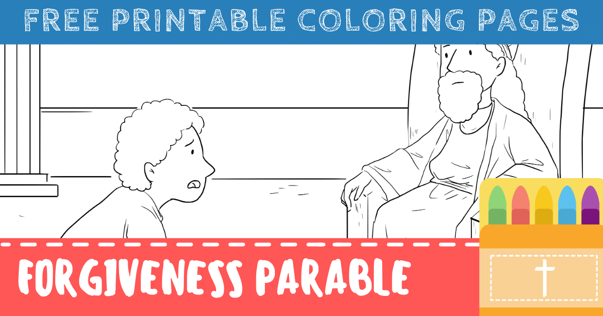 Forgiveness in the Bible Coloring Pages