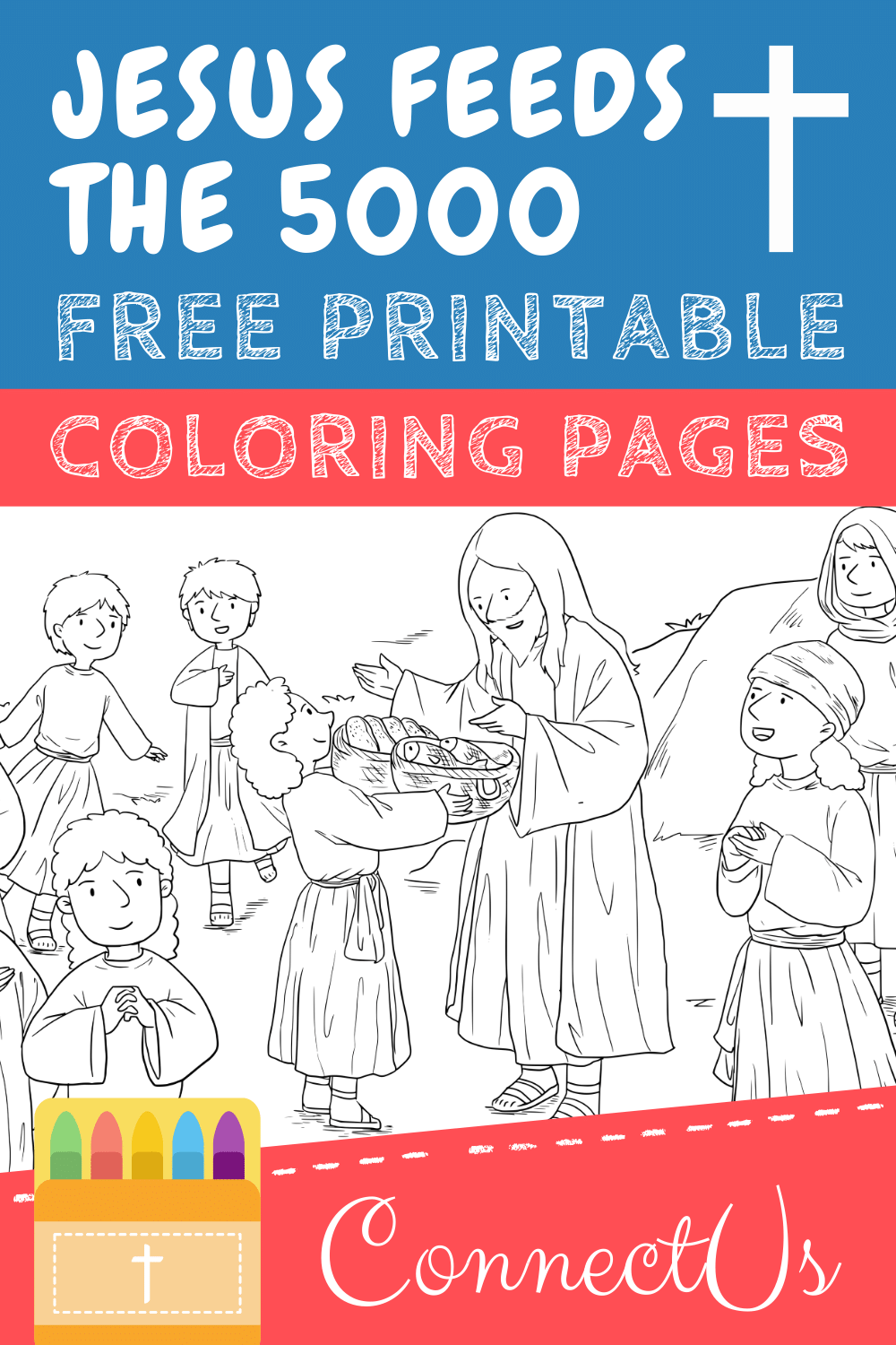 Jesus Feeds the 5000 Printables