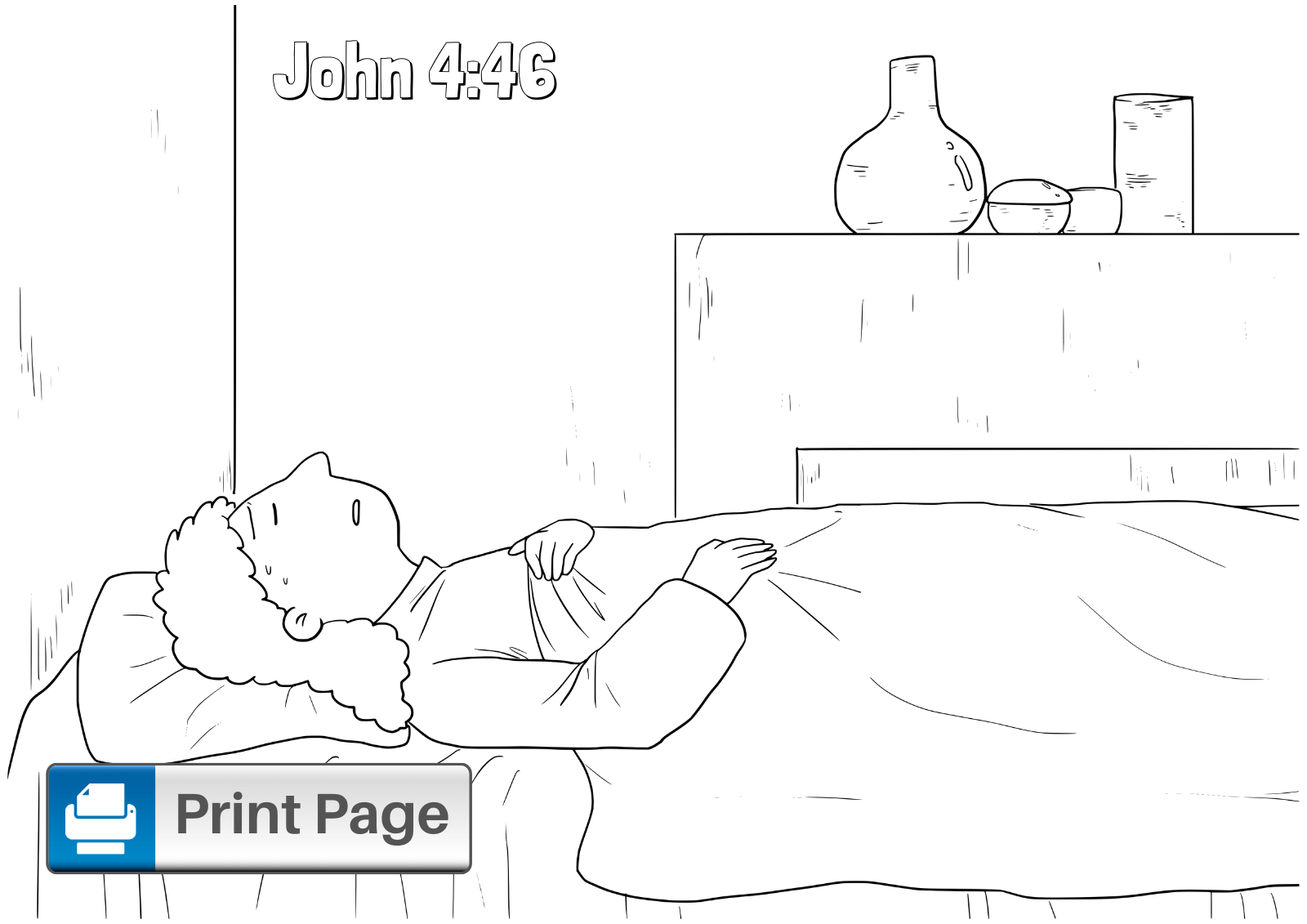 Bible Jesus Heals The Blind Man Coloring Pages - Coloring Pages ... | 1131x1600