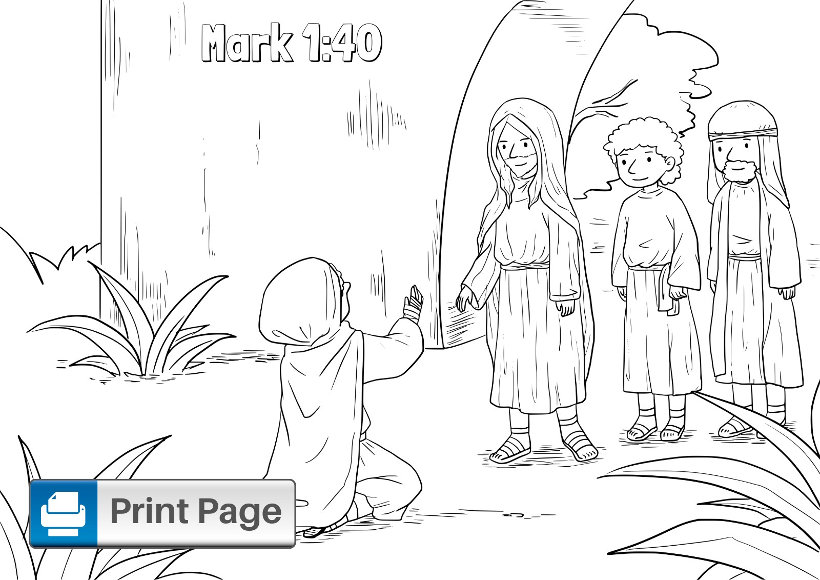 Jesus Loves The Little Children Coloring Page | Jesus coloring ... | 1131x1600