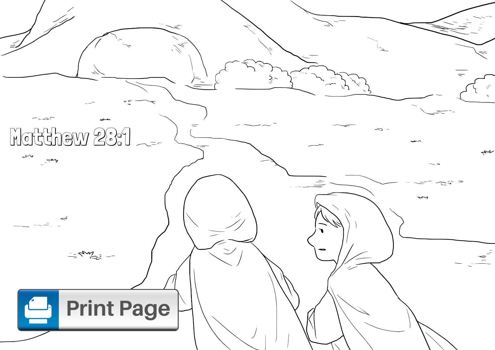 - Free Jesus Resurrection Coloring Pages For Kids – ConnectUS