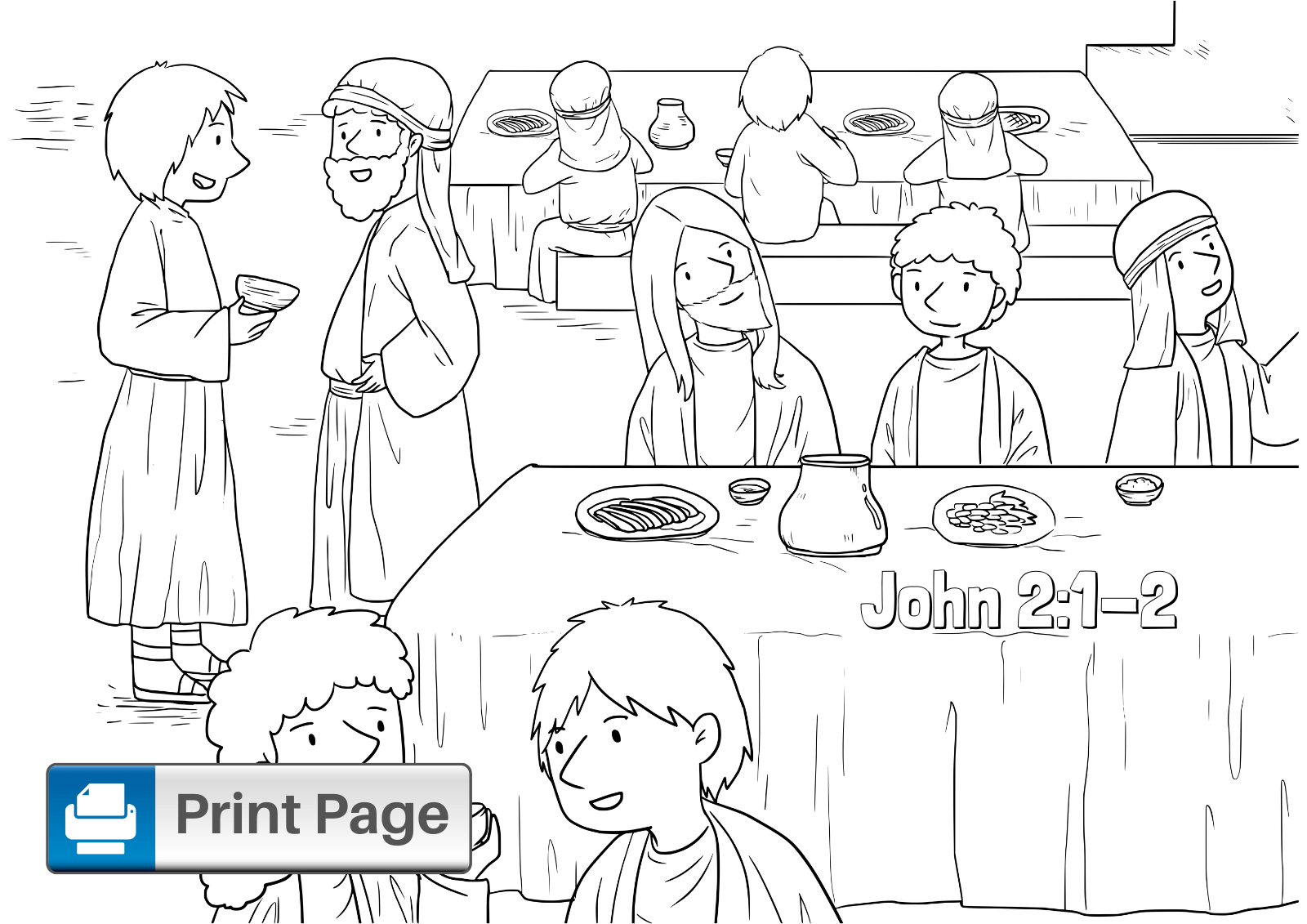 First Disciples Of Jesus Coloring Pages |Jesus Calls His Disciples ... | 1131x1600