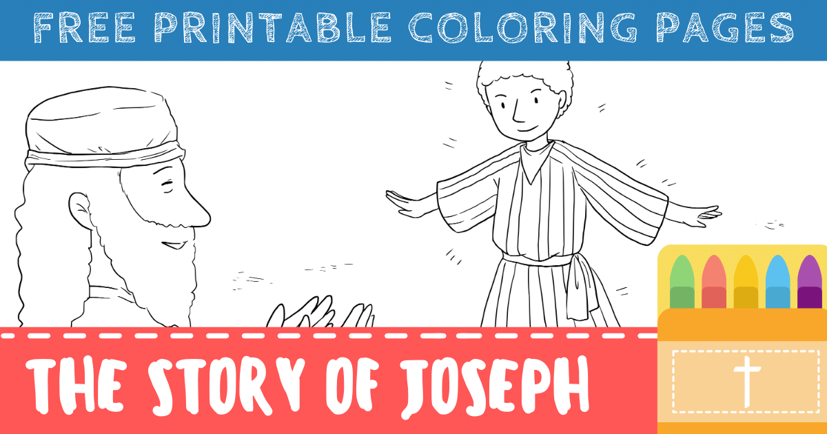 Joseph and His Brothers Coloring Pages