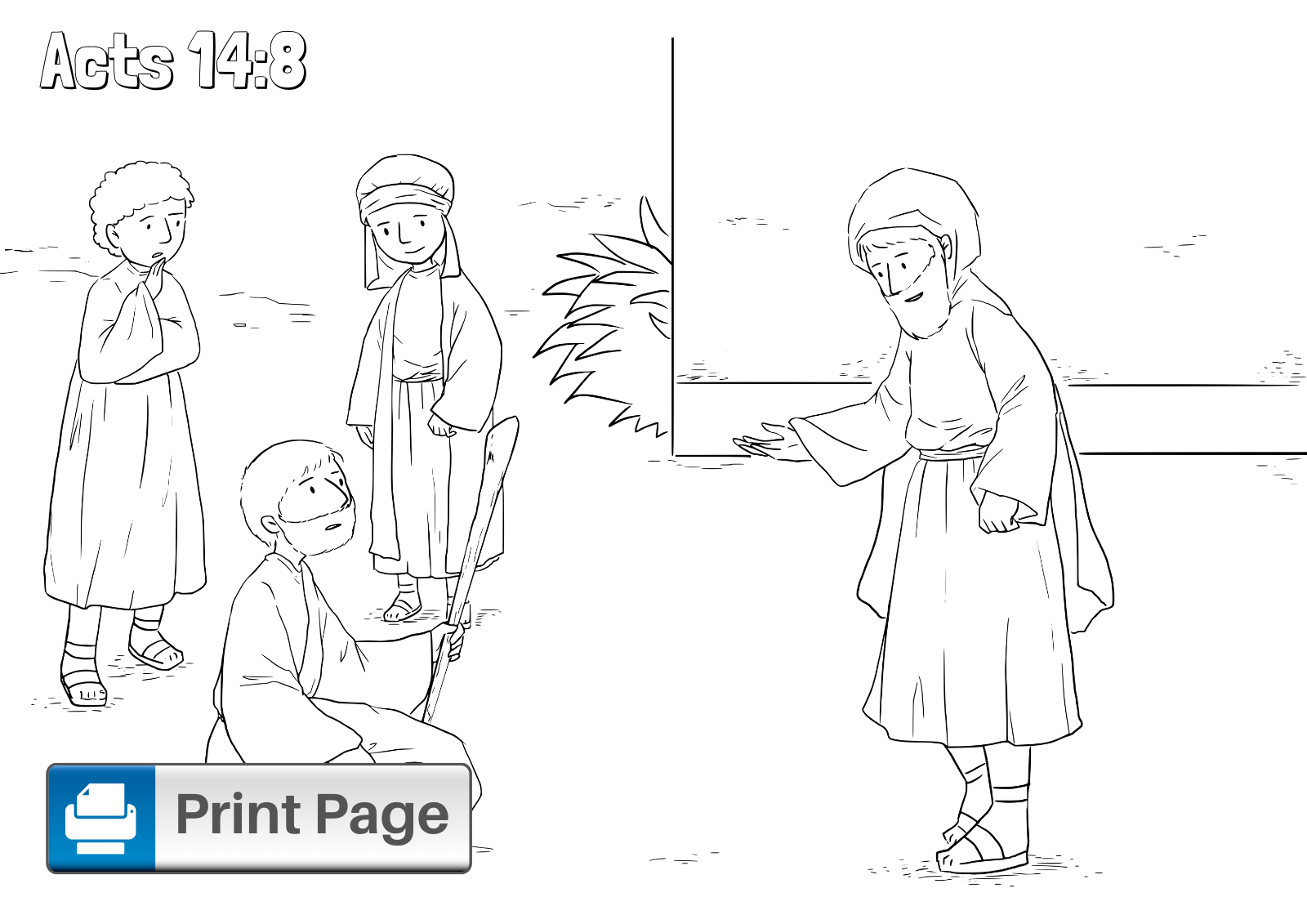 Paul And Timothy Coloring Pages - Coloring Home | 1131x1600