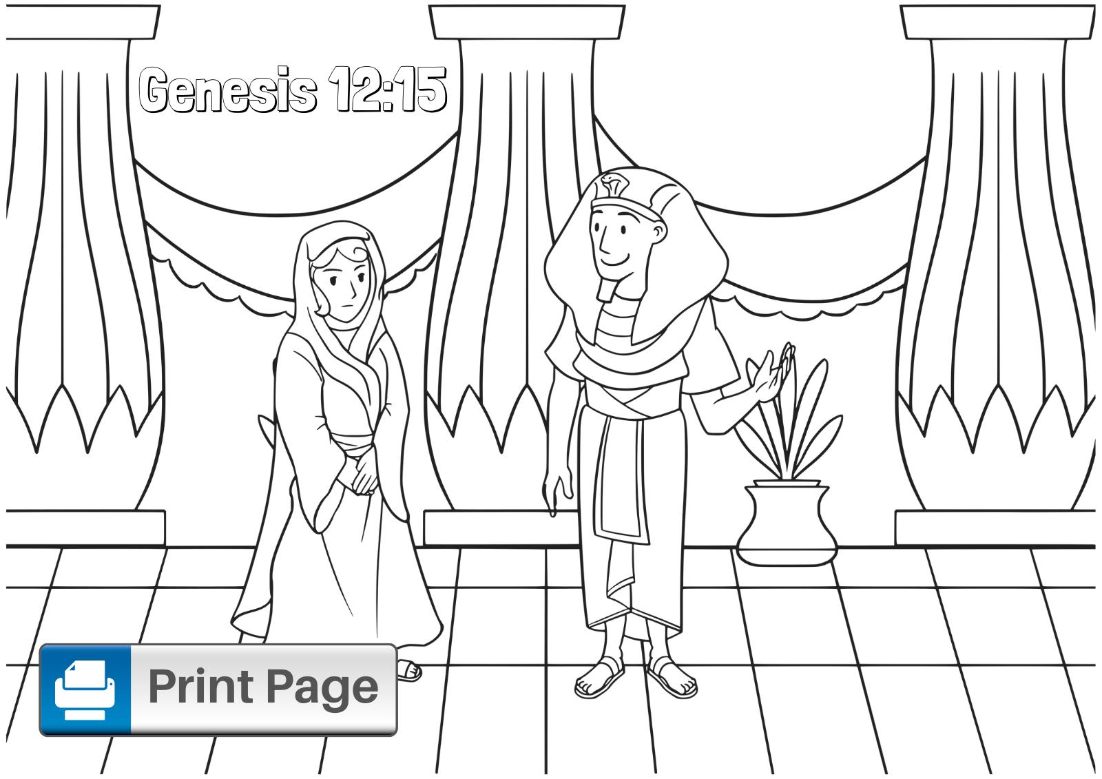 Sarah and Pharaoh