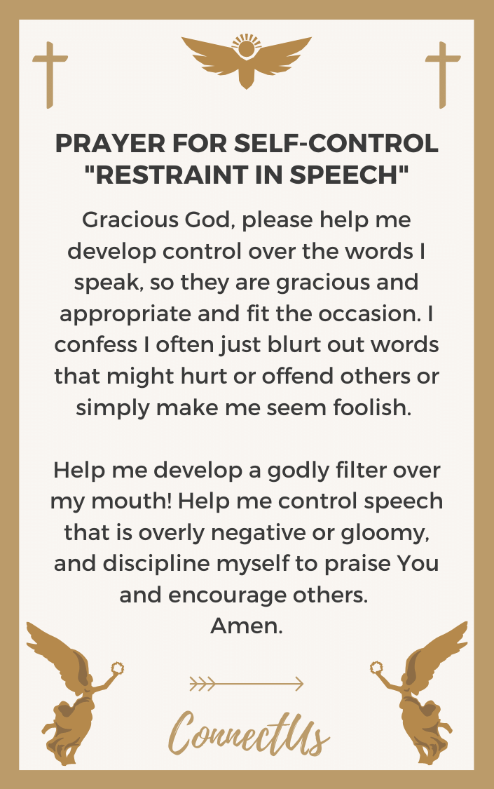 restraint-in-speech