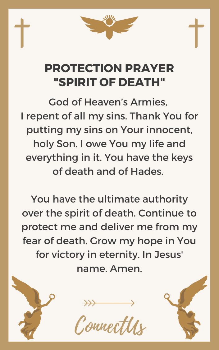 spirit-of-death-prayer