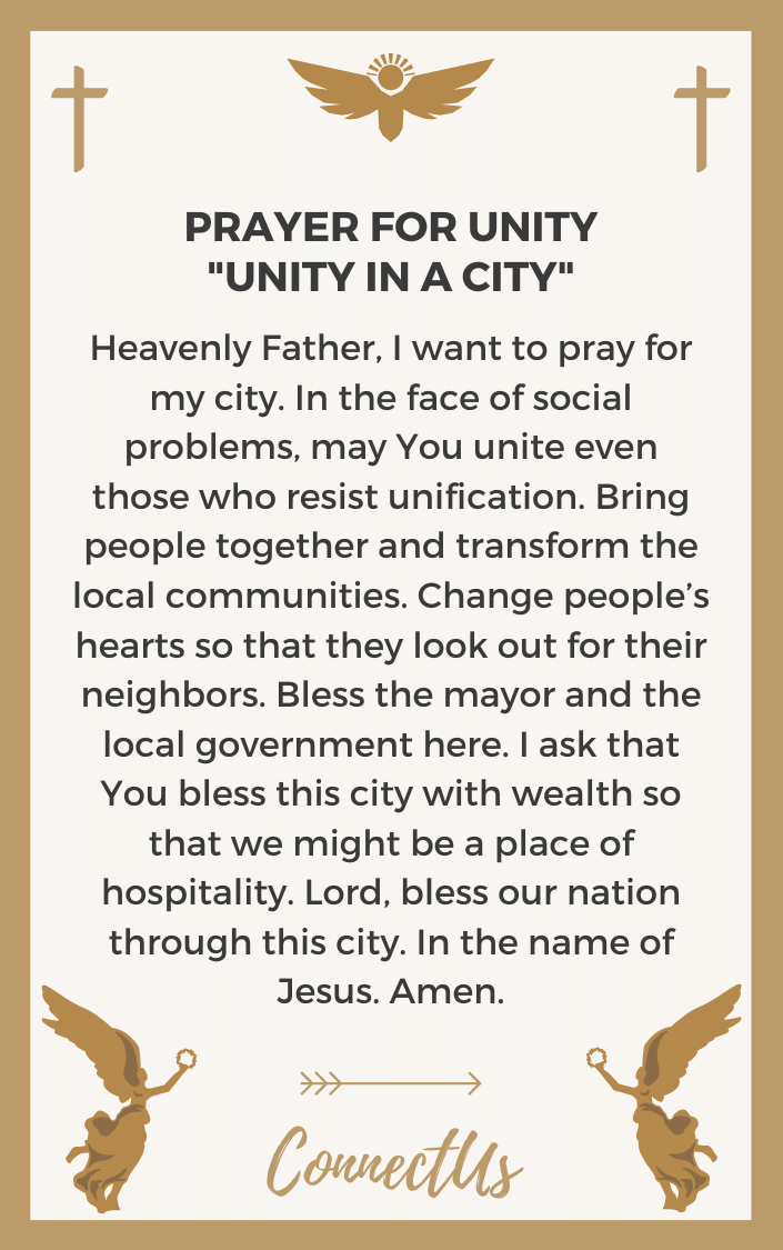 unity-in-a-city