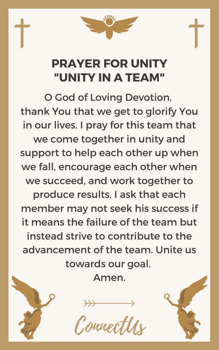 unity-in-a-team