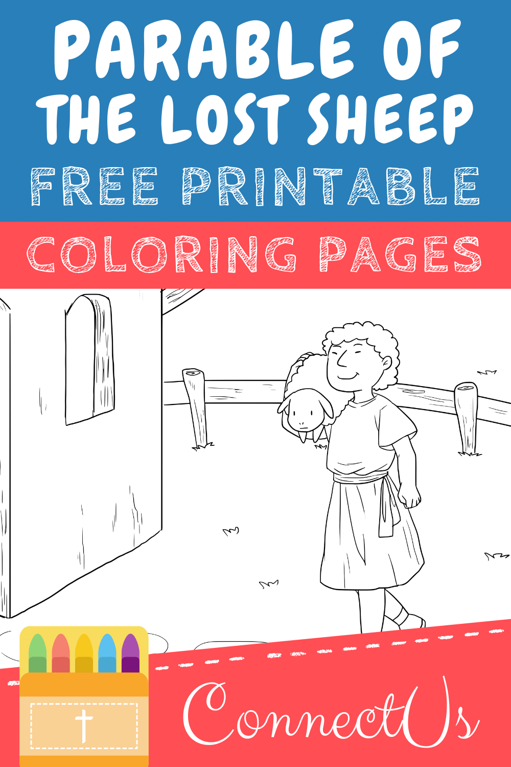 Parable of the Lost Sheep Printables