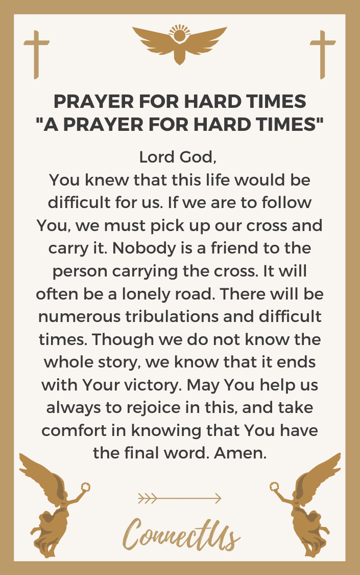 a-prayer-for-hard-times