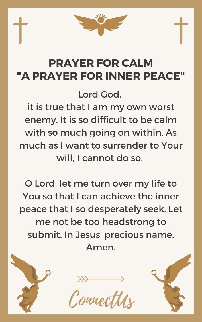 a-prayer-for-inner-peace