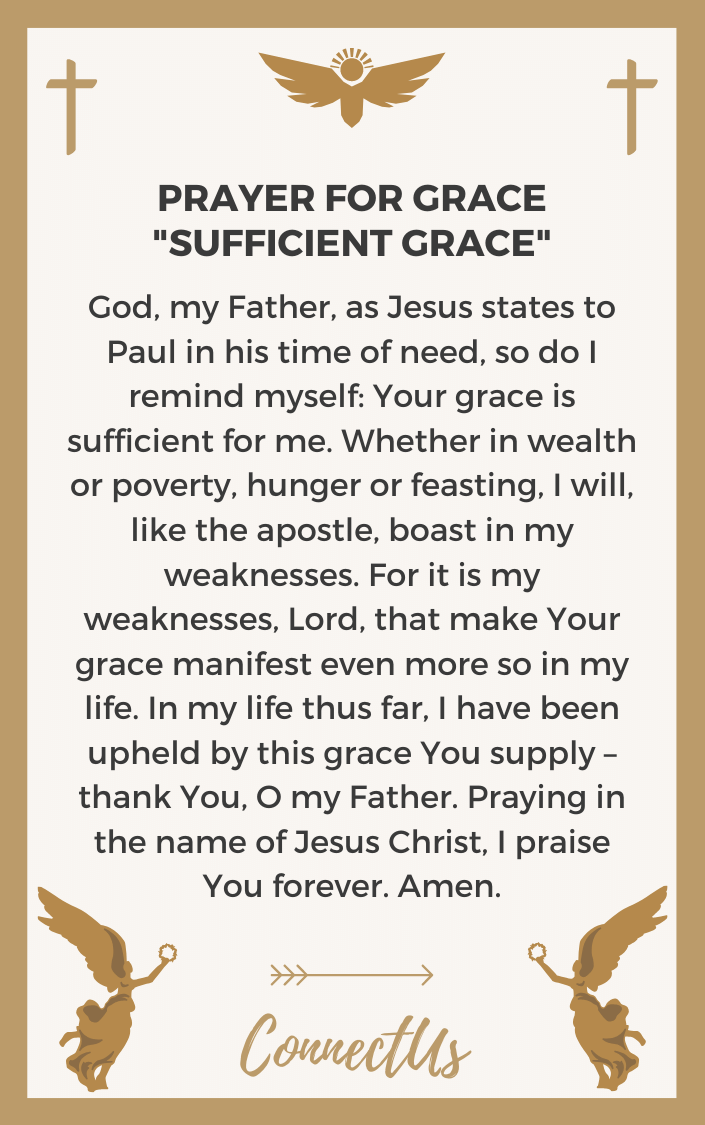 sufficient-grace
