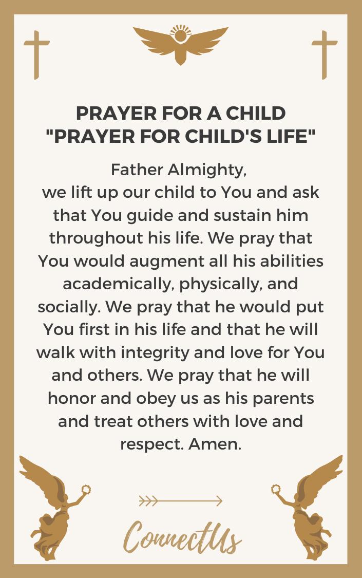 prayer-for-childs-life
