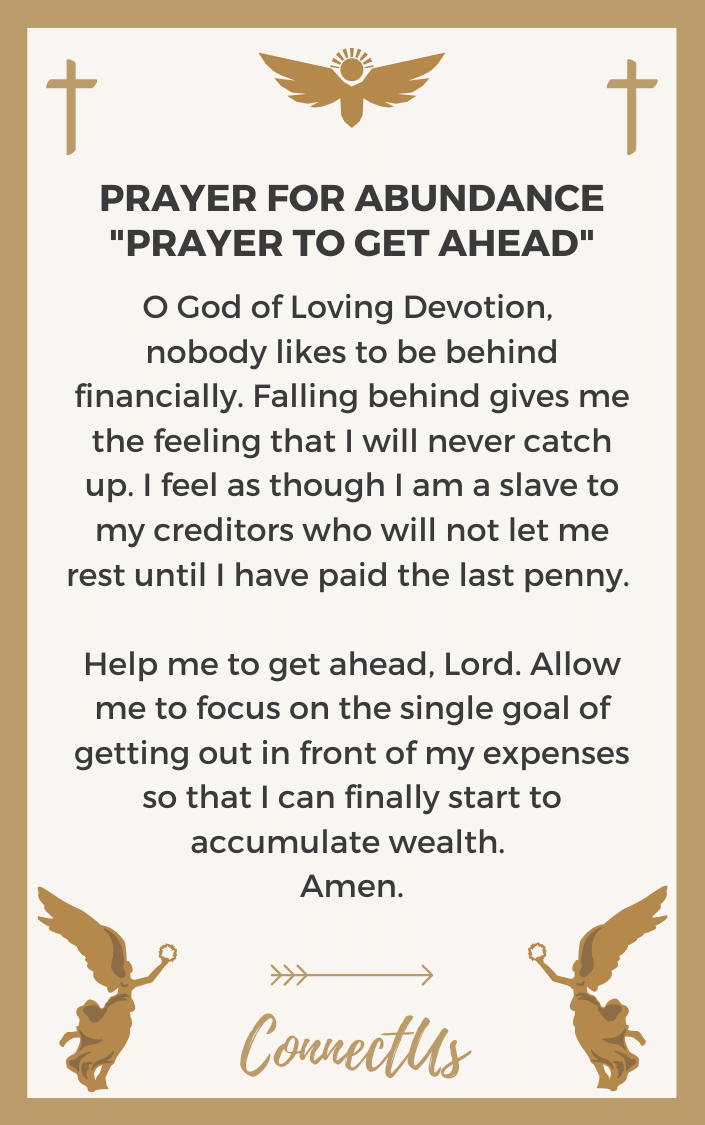 prayer-to-get-ahead