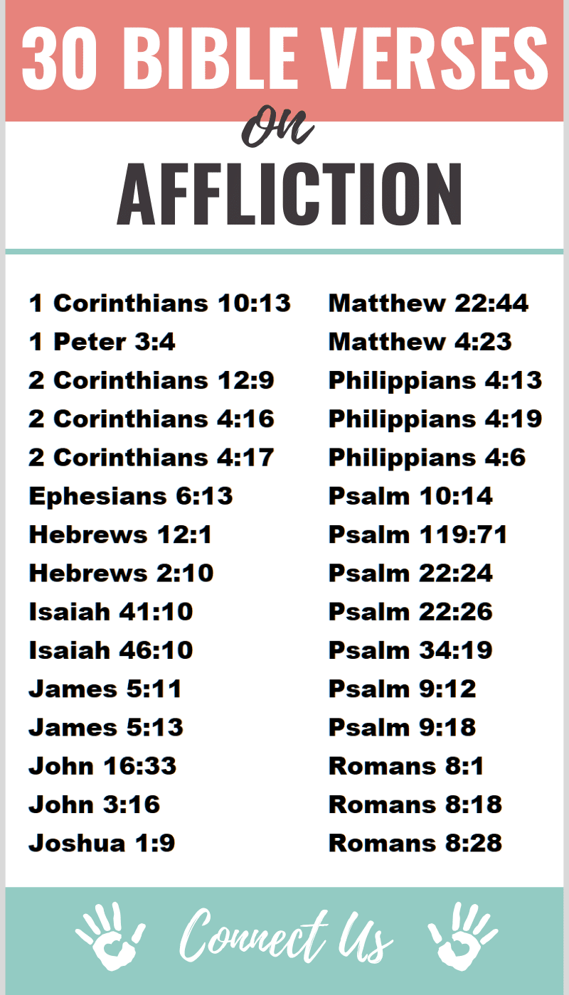 Bible Verses on Affliction