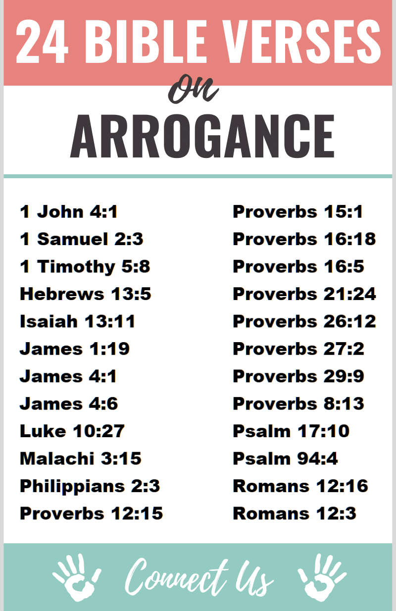 Bible Verses on Arrogance