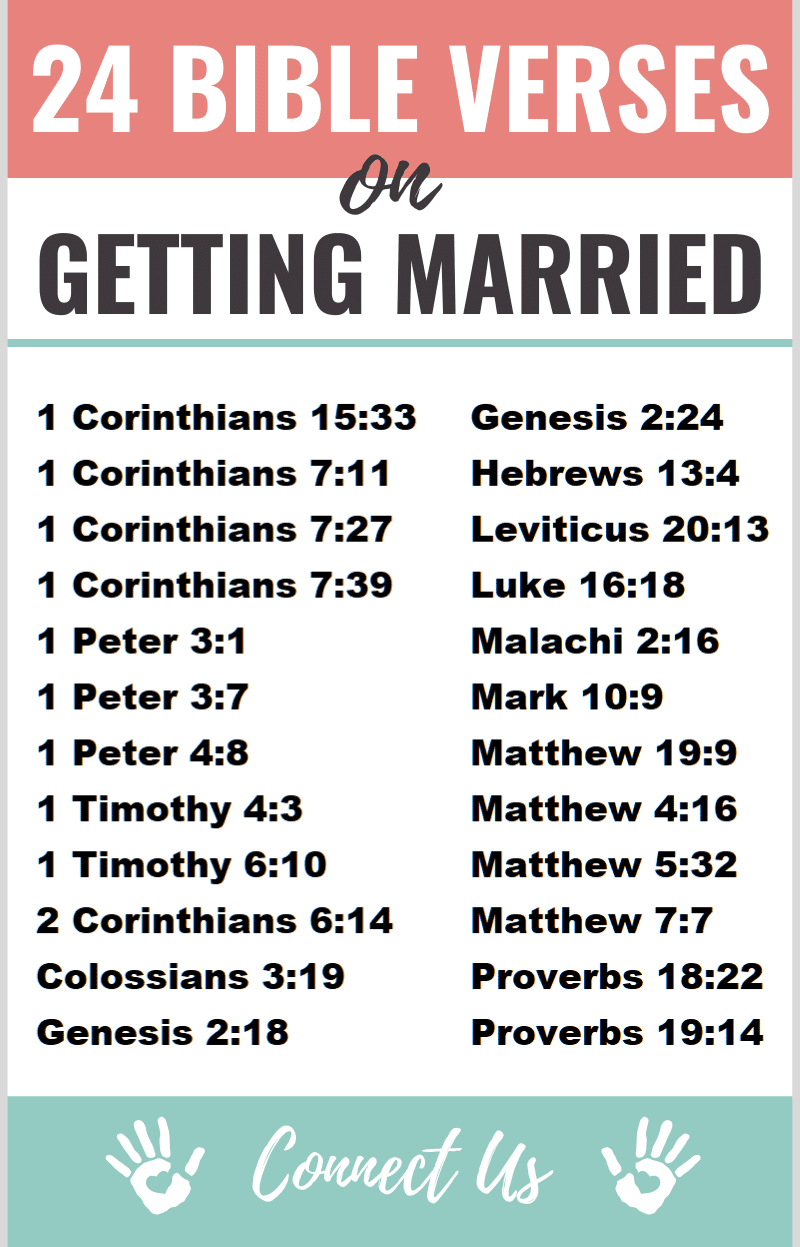 Bible Verses on Getting Married