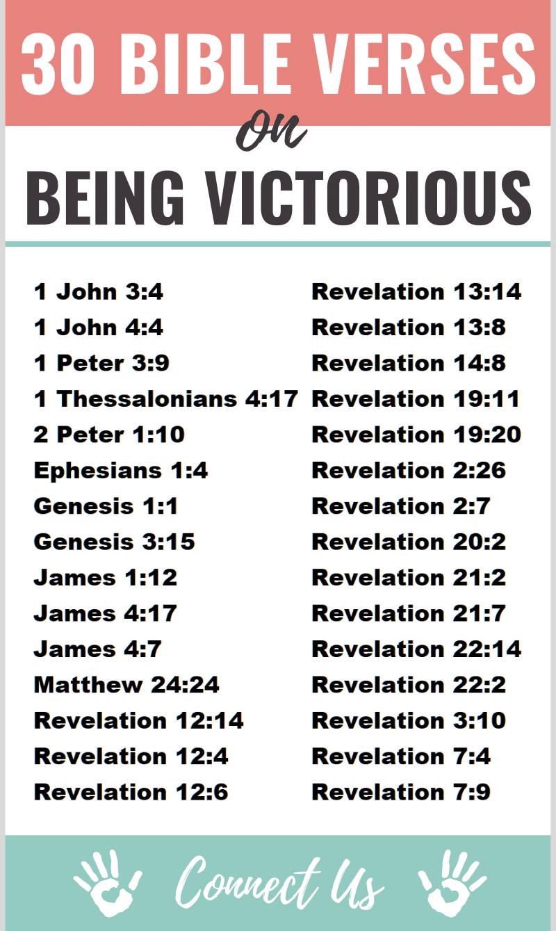 Bible Verses on Being Victorious