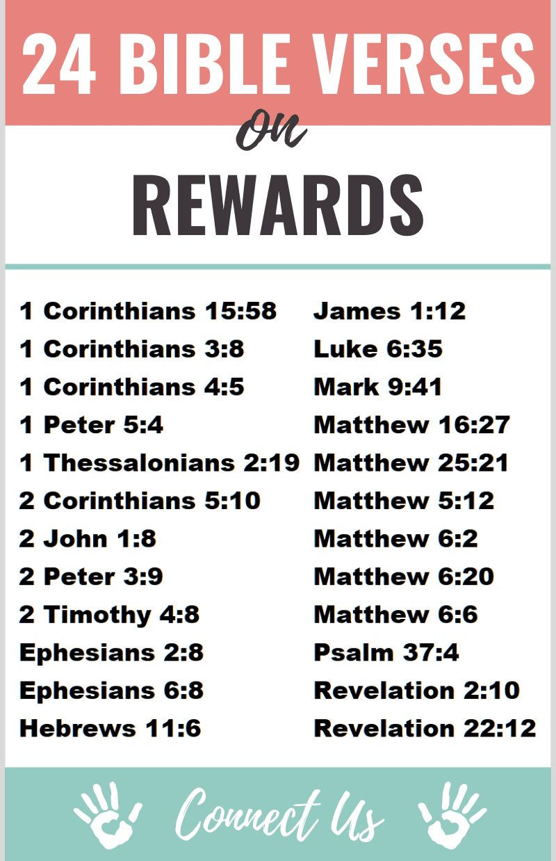 Bible Verses on Rewards