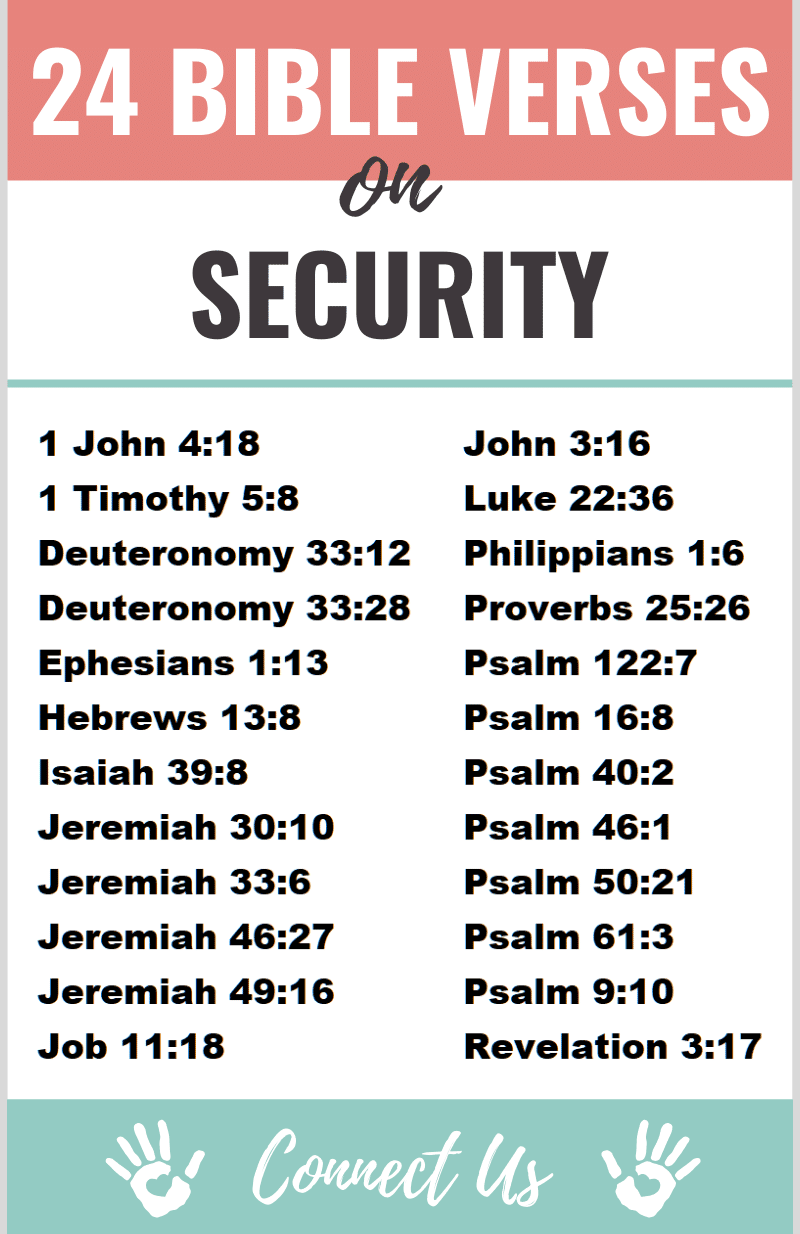 Bible Verses on Security