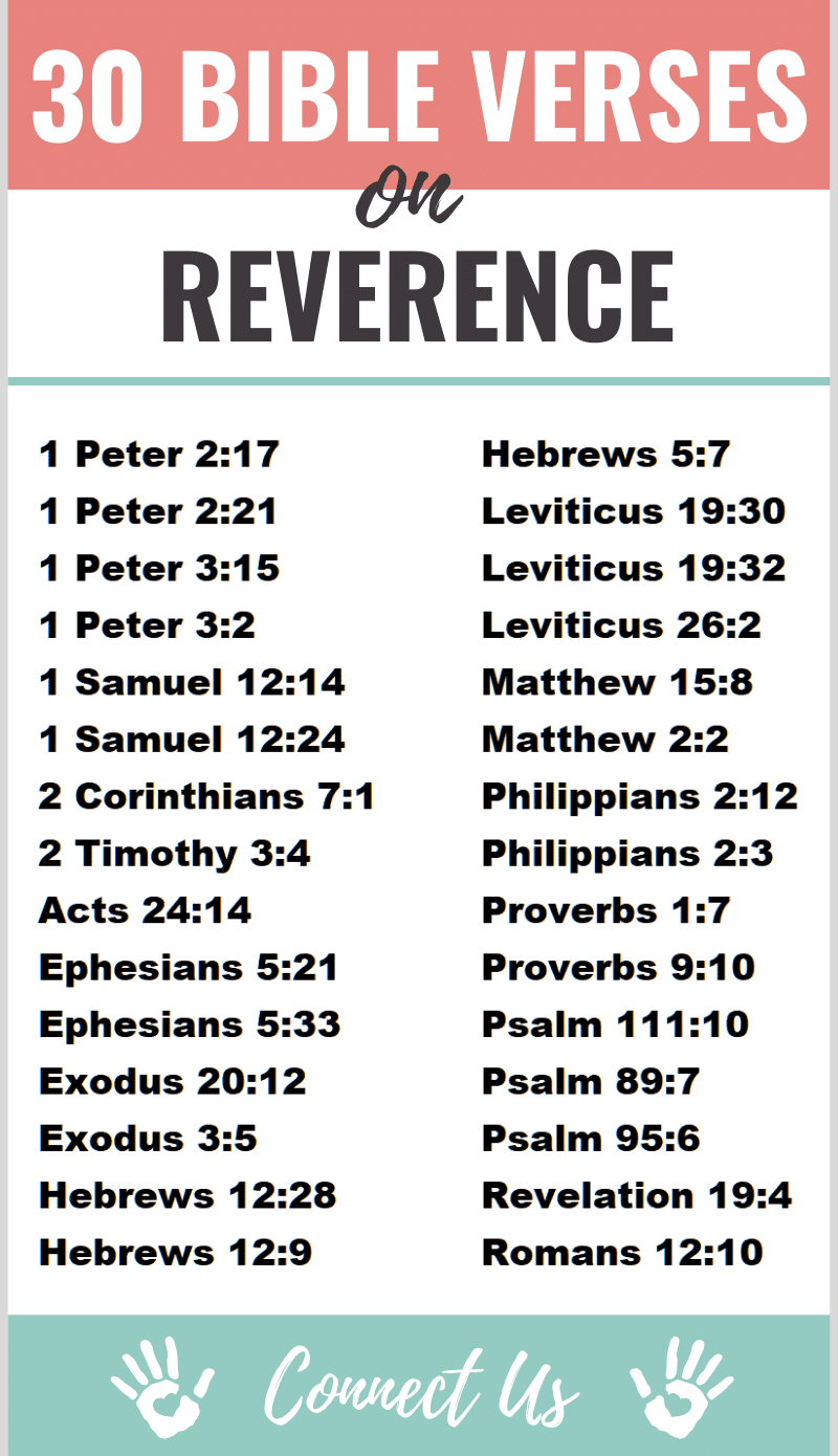 Bible Verses on Reverence