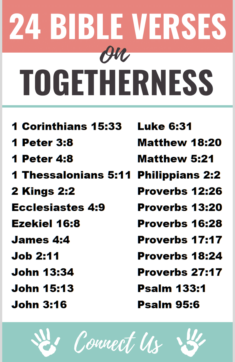 Bible Verses on Togetherness